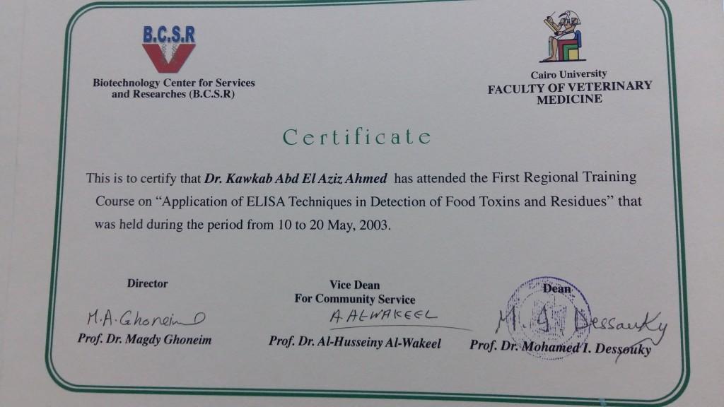 Application Of ELISA Technique